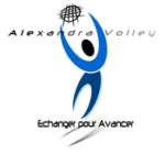 Logo du spot Alexandra Volley